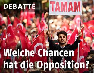 Wahlveranstaltung für Muharrem Ince