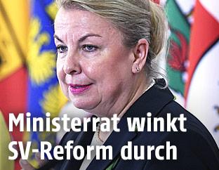 Sozialministerin Beate Hartinger