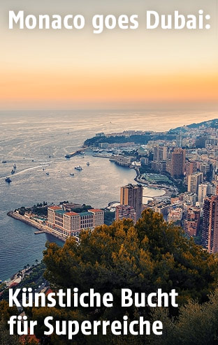 Bucht in Monaco