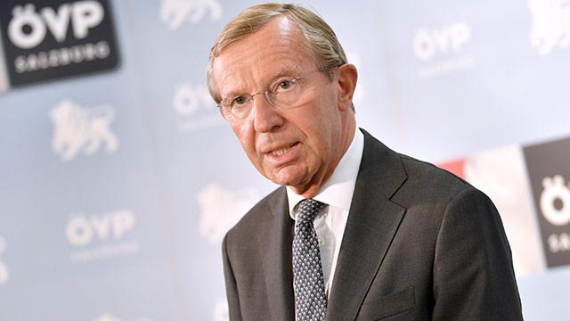Salzburger Landeshauptmann Wilfried Haslauer (ÖVP)