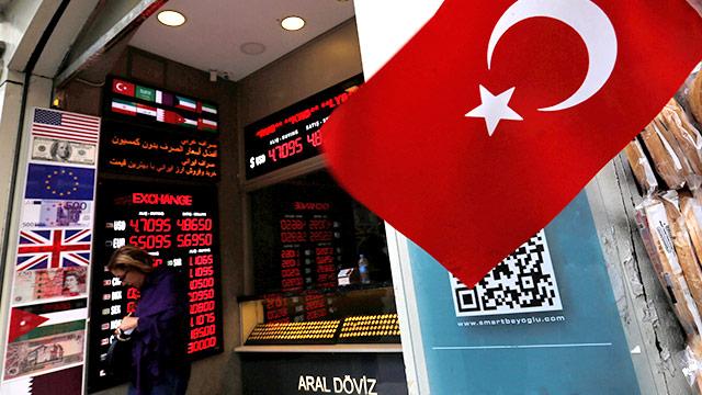 Geldwechselstube in Istanbul