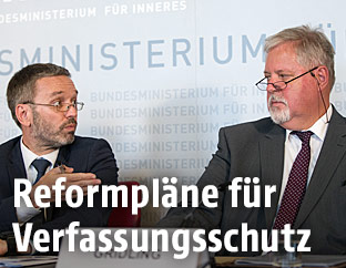 Innenminister Herbert Kickl und BVT-Chef Peter Gridling