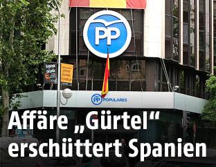 Zentrale der Partei PP