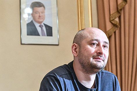 russischer Journalist Arkadi Babtschenko