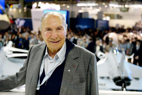 Der französische Unternehmer Serge Dassault
