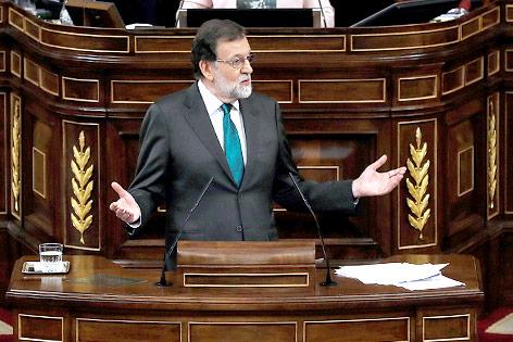 Spanischer Premierminister Mariano Rajoy