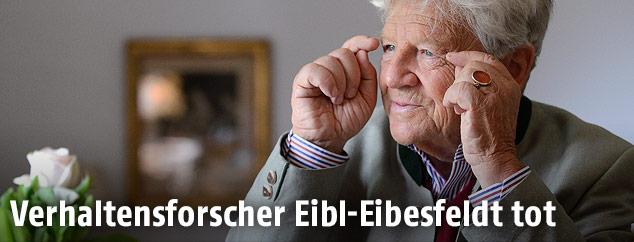 Der österreichische Biologe Irenäus Eibl-Eibesfeldt