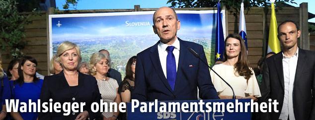 Der slowenische Ex-Ministerpräsident Janez Jansa