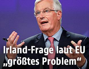 """""""Brexit""""-Chefverhandler für die EU, Michel Barnier"""