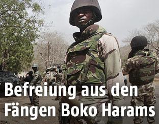 Nigerianischer Soldat