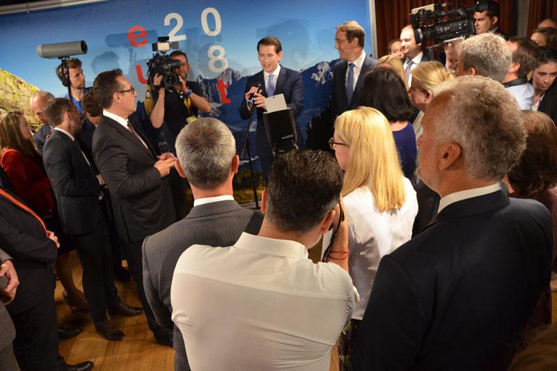 Ministerrat der Regierungsmitglieder in Brüssel