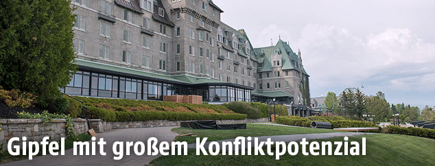 """Manoir Richelieu""-Hotel in LaMalbaie"