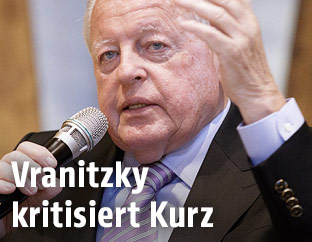 Altkanzler Franz Vranitzky