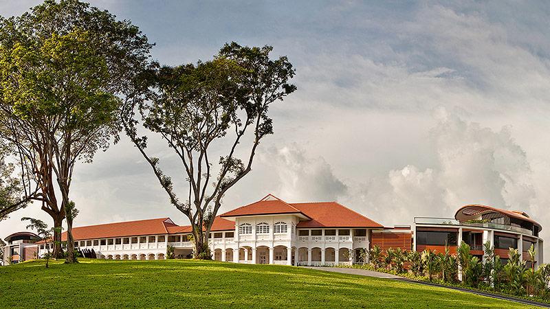 """Hotel """"Capella"""" auf der Ferieninsel Sentosa in Singapur"""