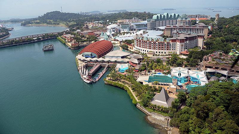 Resorts World Sentosa in Singapur