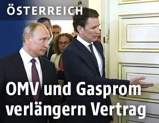 Sebastian Kurz und Wladimir Putin