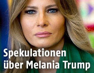 Melania Trump, die First Lady der USA