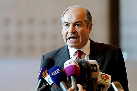 Jordaniens Ministerpräsident zurückgetreten
