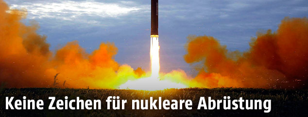 Nordkoreanische Atomrakete