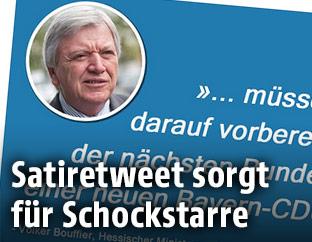Screenshot twitter  Moritz Hürtgen/hr Tagesgeschehen