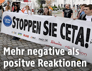 Anti-CETA-Demo in Wien