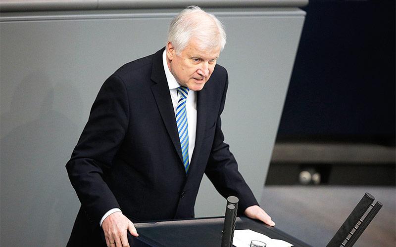 Deutscher Innenminister Horst Seehofer