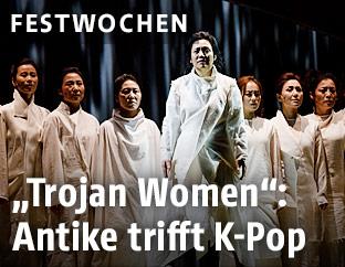 "Szene aus ""Trojan Women"""