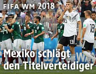Enttäuschte deutsche Spieler