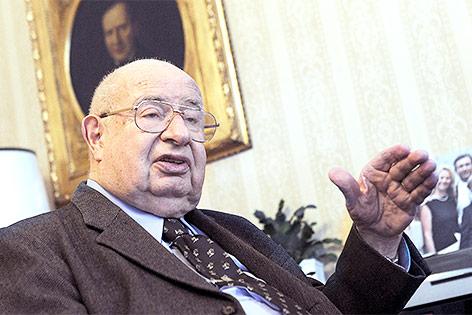"""ehemaliger Chefredakteur der Tageszeitung """"Die Presse"""" Thomas Chorherr"""