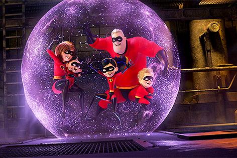 Szene aus Incredibles 2
