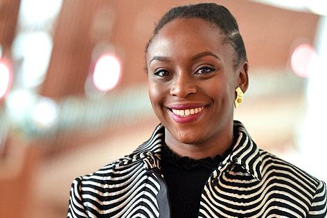 Die nigerianische Autorin Chimamanda Ngozi Adichie
