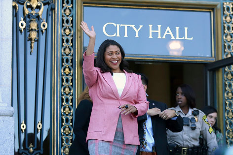 Die Bürgermeisterin von San Francisco, London Breed