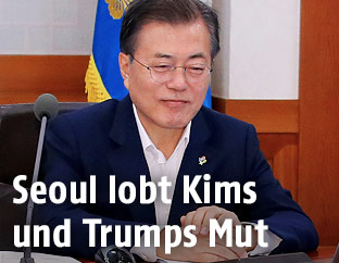 Südkoreas Präsident Moon Jae In