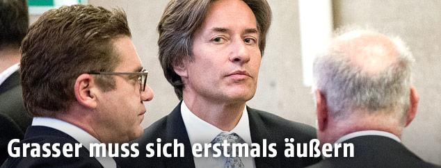 Angeklagter Karl Heinz Grasser