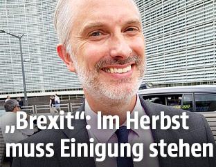 Gregor Schusterschitz, Vertreter Österreichs in der Brexit-Ratsarbeitsgruppe der EU