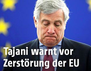 Präsident des EU-Parlaments Antonio Tajani