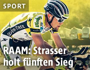 Extremradsportler Christoph Strasser (AUT)