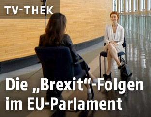 Interview im EU-Parlament
