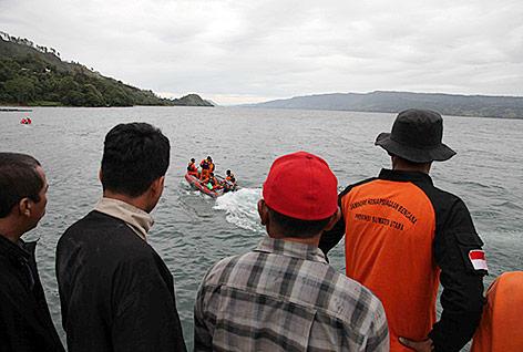 Rettungsboot in Sumatra