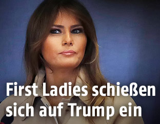 US-First Lady Melania Trump