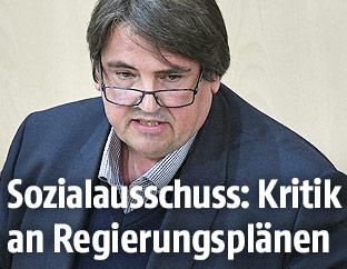 SPÖ-Abgeordneter Josef Muchitsch