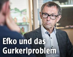 Efko-Geschäftsführer Klaus Hraby
