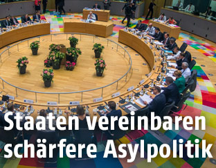 Blick in den Verhandlungssaal