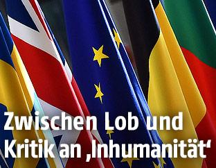 Fahnen der EU-Mitgliedsstaaten