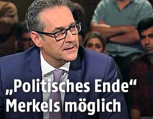 Vizekanzler Heinz Christian Strache (FPÖ)
