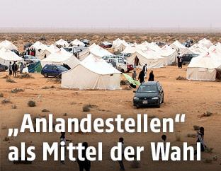 Flüchtlingslager in Libyen