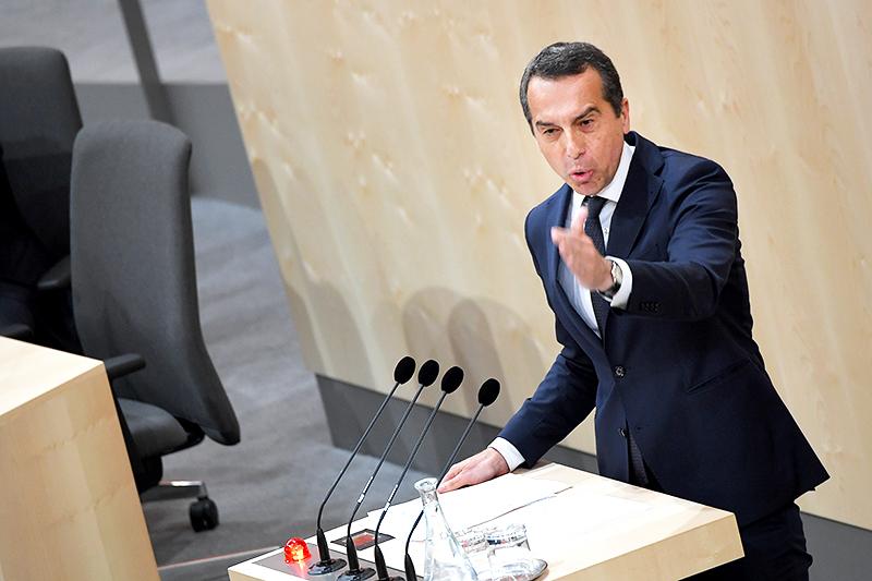 SPÖ-Klubchef Christian Kern
