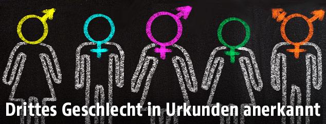 Symbole der Geschlechter