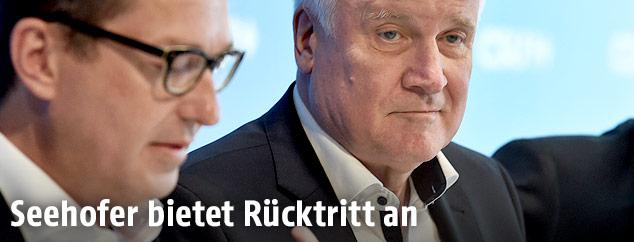 Der deutsche Innenminister und CSU-Chef Horst Seehofer