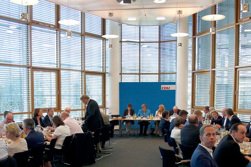 CDU-Parteisitzung